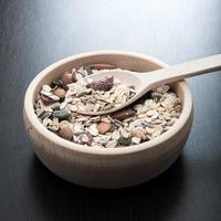 heerlijke en gezonde granen foto