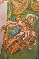 Sevilla - fresco van engel met de rozen foto