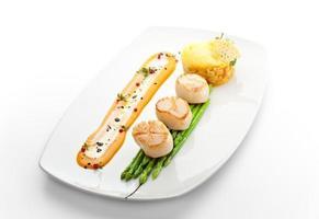 risotto met zeevruchten foto