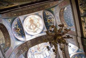 de fresco's in de kathedraal