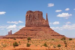klassieke want in monument valley foto