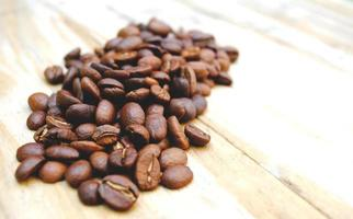 café en la mesa foto