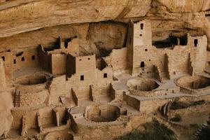 Mesa Verde National Park Anasazi ruïnes foto