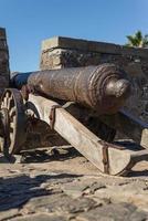 historisch kanon, colonia del sacramento, uruguay. reizend.