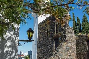 colonia de sacramento stad, uruguay, reizend zuid-amerika.