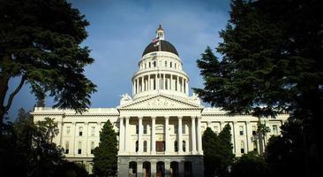 capitol gebouw van de staat Californië foto