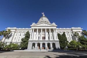 capitol van de staat Californië foto