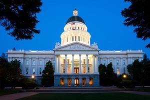 staat Capitol gebouw foto