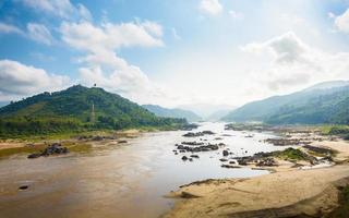 Mekong rivier foto