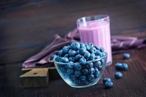 yoghurt met bosbes