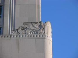 architectonisch detail op st. Louis gerechtsgebouw foto
