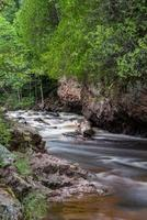 rustige cascade rivier