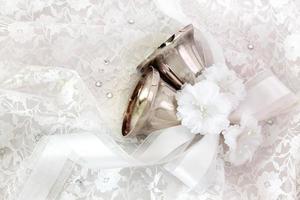 bruiloft klokken foto