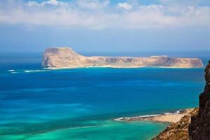 gramvousa-eiland foto
