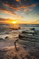 zomer zonsopgang foto