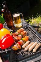zomer grillfeest foto