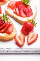 zomer ontbijt foto