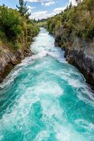 Huka Falls - Taupo, Nieuw-Zeeland foto