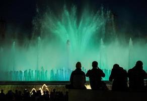 fontein barcelona foto