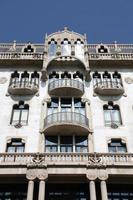 art nouveau in barcelona foto