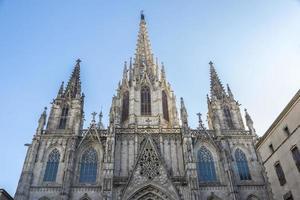 kathedraal van barcelona foto