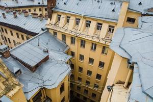muren van Sint-Petersburg, Rusland foto