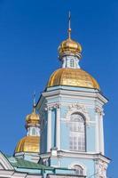 st. de marinekathedraal van nicholas. Sint Petersburg foto