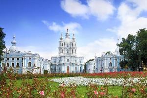 St. Petersburg. historisch uitzicht op attracties. foto