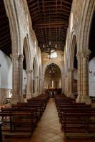 binnenland van kerk, foto