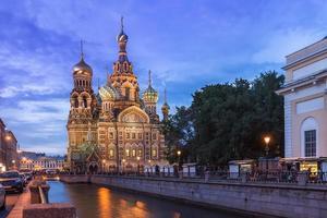 kerk van de Verlosser op het Bloed, Sint-Petersburg foto