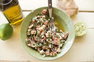 octopus salade foto