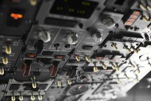 vliegtuig bedieningspaneel