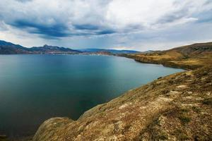 zee landschap foto