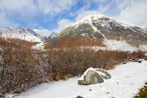 landschap van livigno foto