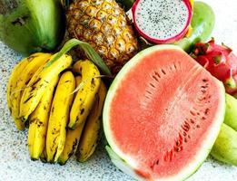 tropische vruchten foto