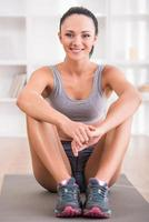 fitness thuis foto