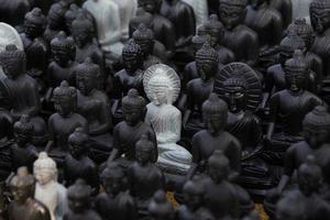Boeddhabeelden, gezicht van Boeddha foto