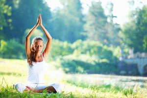 lotus yoga foto