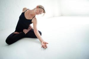 yoga droom foto