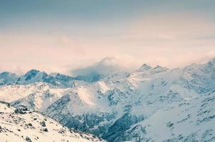 winter bergen foto