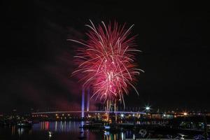docklands winter vuurwerk