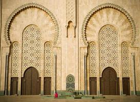 moskee, casablanca foto