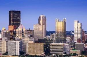Pittsburgh, Pennsylvania skyline foto