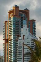 gebouw, Miami. foto
