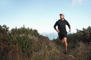 fitness hardlopen foto