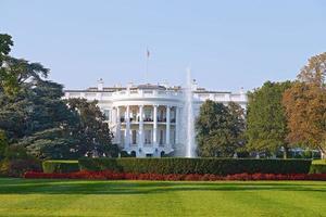 het witte huis in washington dc. foto