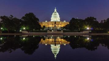 de Amerikaanse hoofdstad. foto