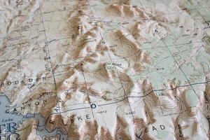 voorbij Lake Mead foto