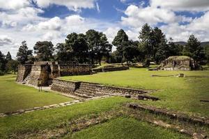 iximche ruïnes foto