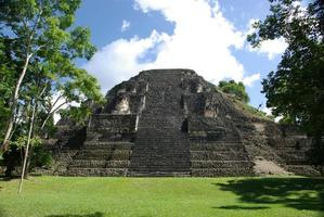 Maya-tempel in Tikal, Guatemala foto